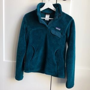 Patagonia pull over fleece synchilla size S